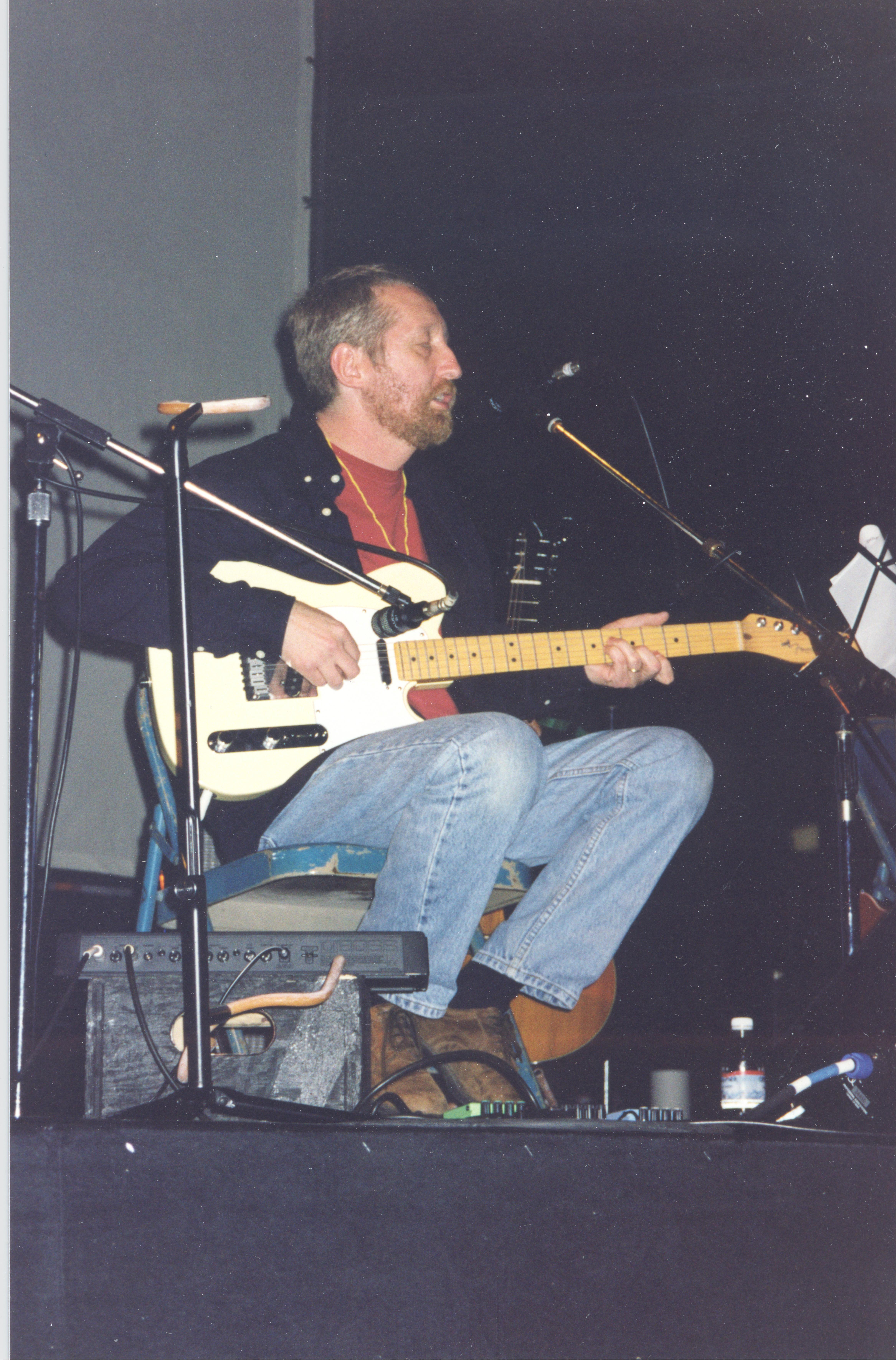 Rapp in a 1998 concert