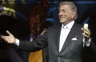 Tony Bennett performing at a Library of Congre...