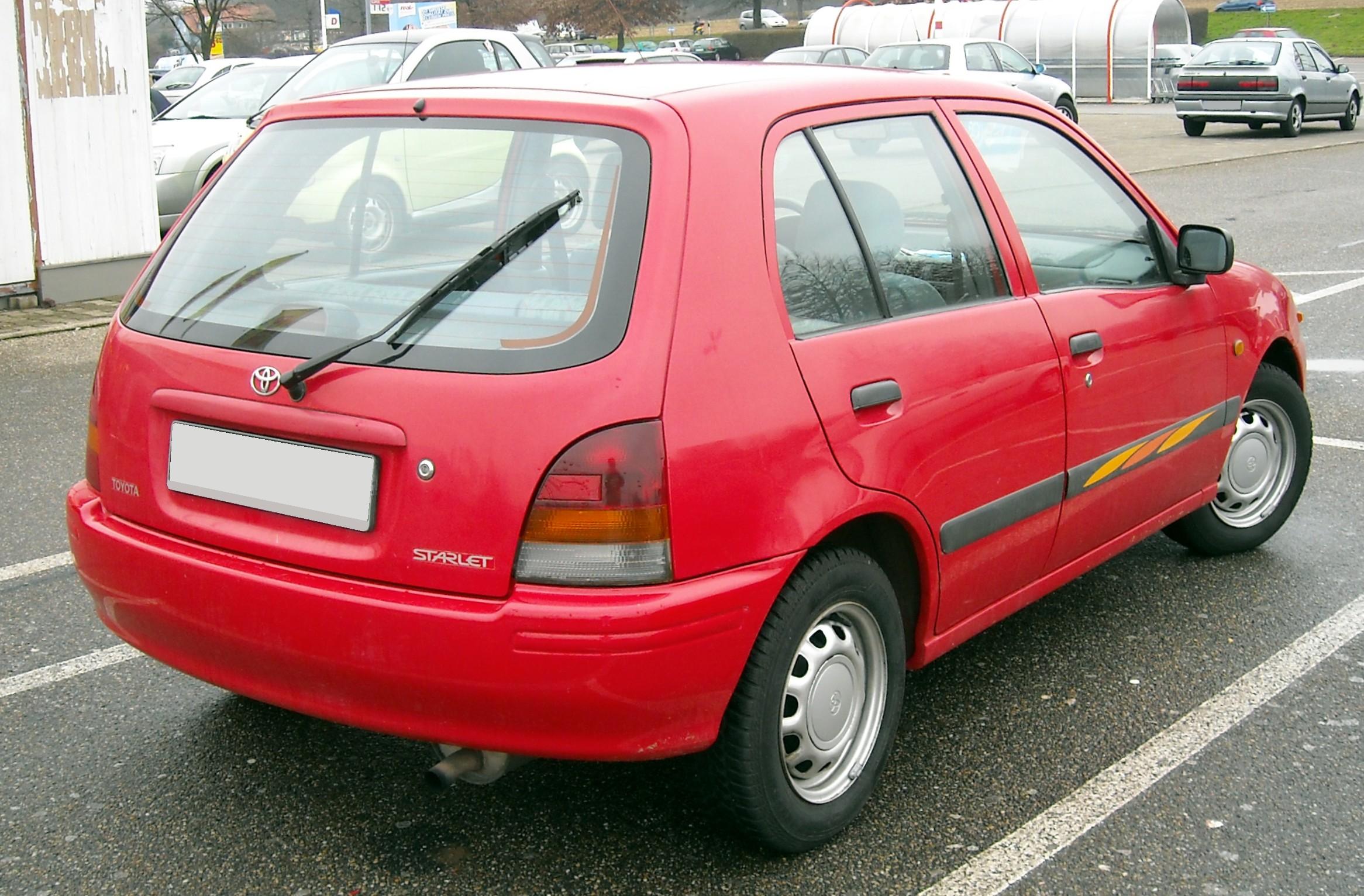 Toyota Starlet occasion auto à vendre en Belgique Autoccasion.be