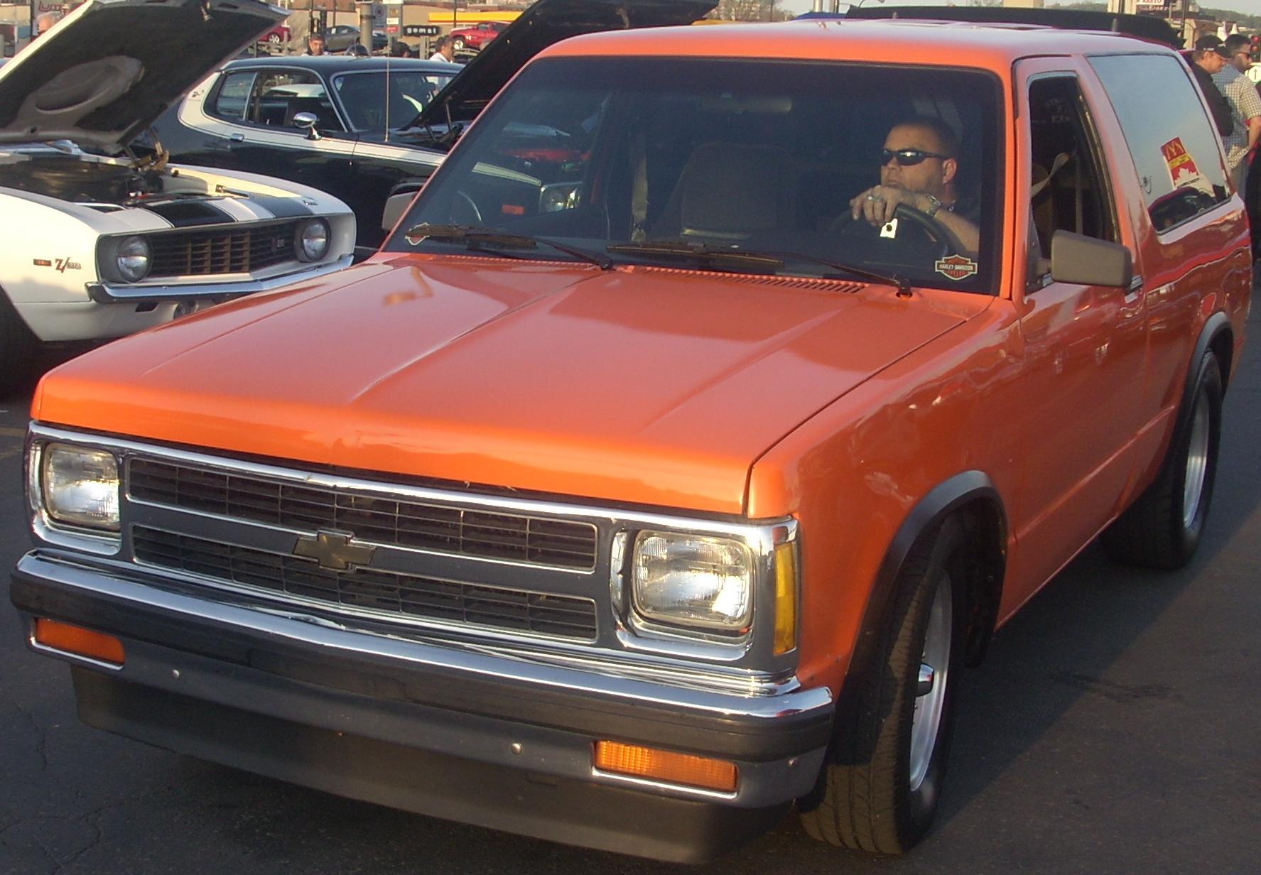 File Tuned Chevrolet S 10 Blazer 2 Door Orange Julep Jpg