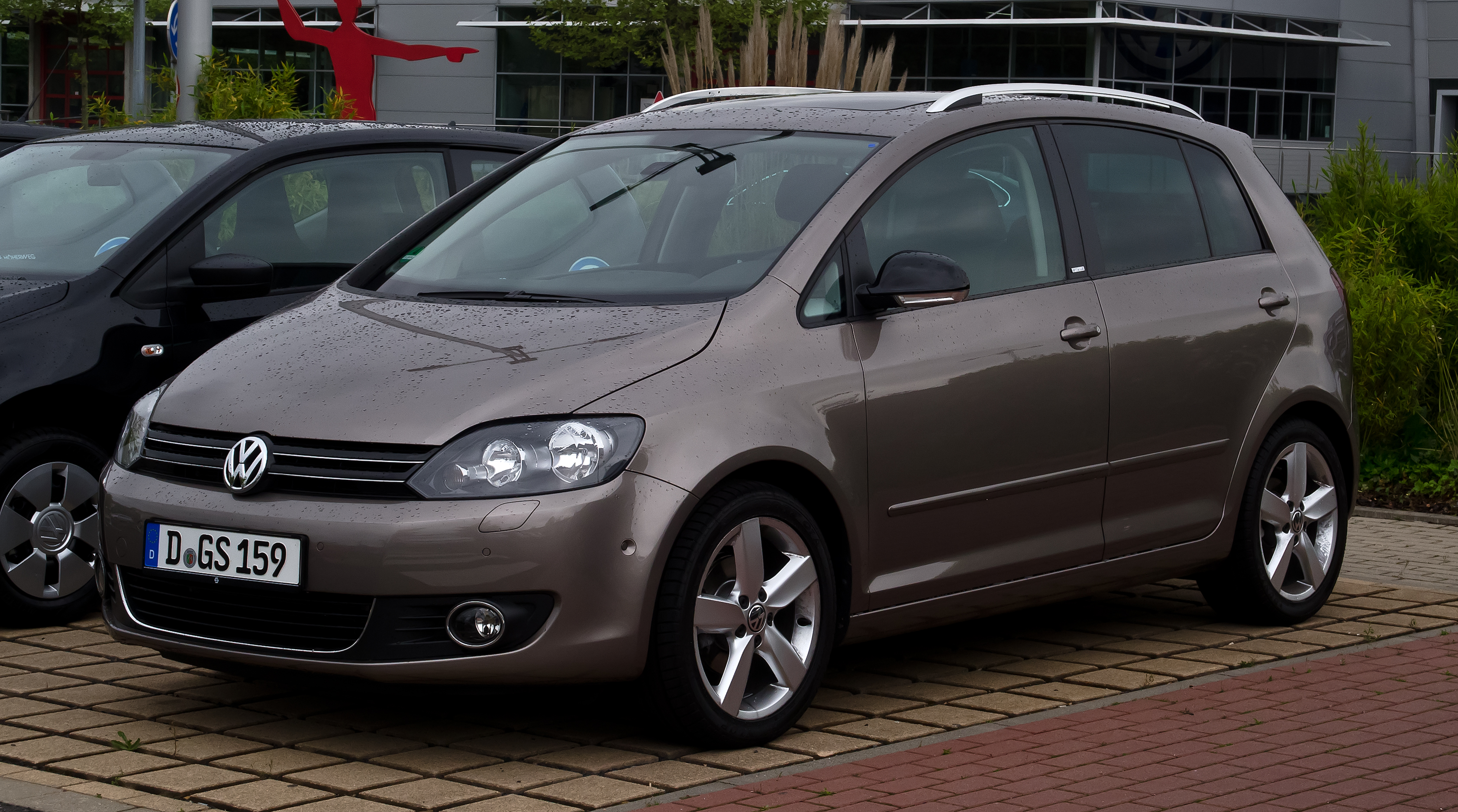 file vw golf plus 1 2 tsi style facelift frontansicht 5 mai 2012 d. Black Bedroom Furniture Sets. Home Design Ideas