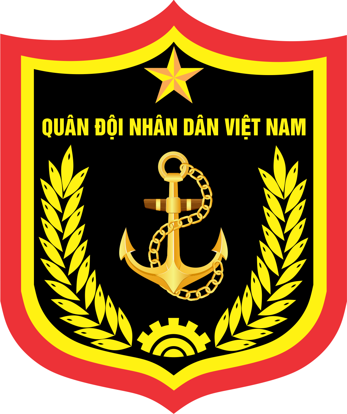Vietnam People's Navy insignia - Vietnam People's Navy