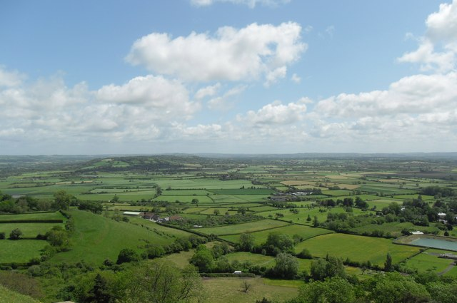View from Glastonbury Tor. - geograph.org.uk - 1322718