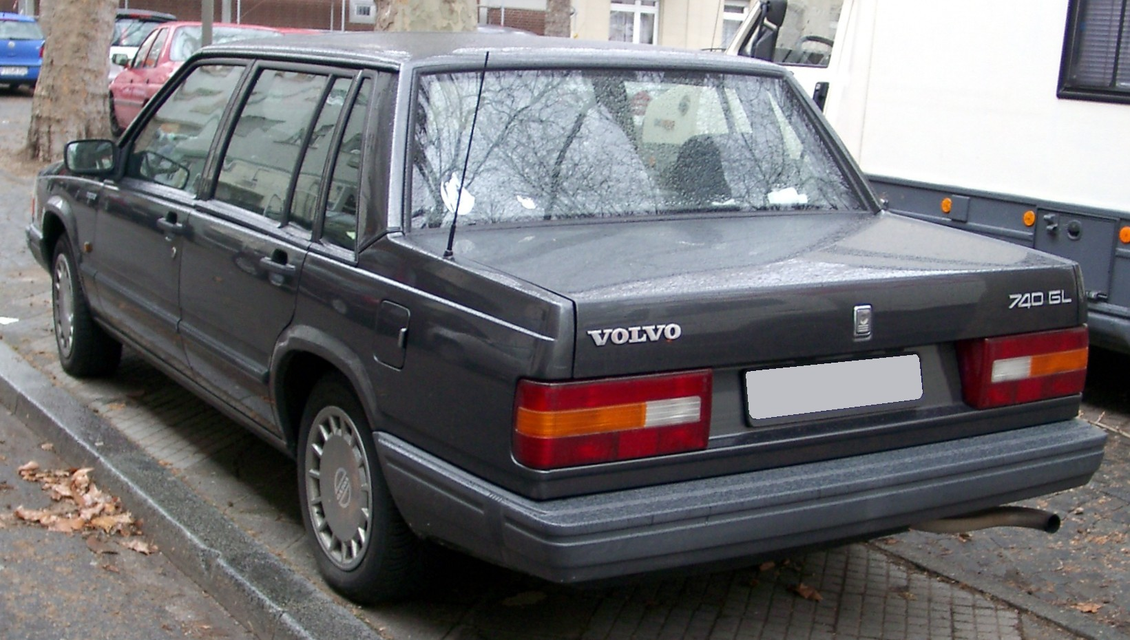 File Volvo 740 Rear 20080320 Jpg Wikimedia Commons