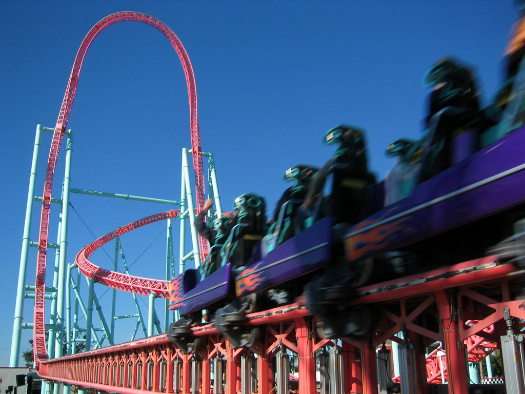 Xcelerator Accident Roller Coaster of the ...