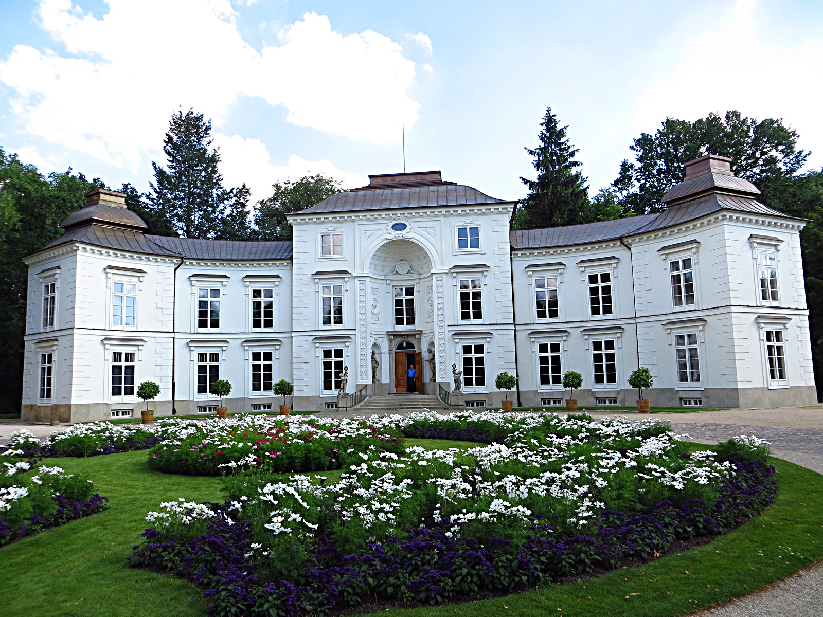 Filełazienki Królewskie Pałac Myślewicki Panoramiojpg