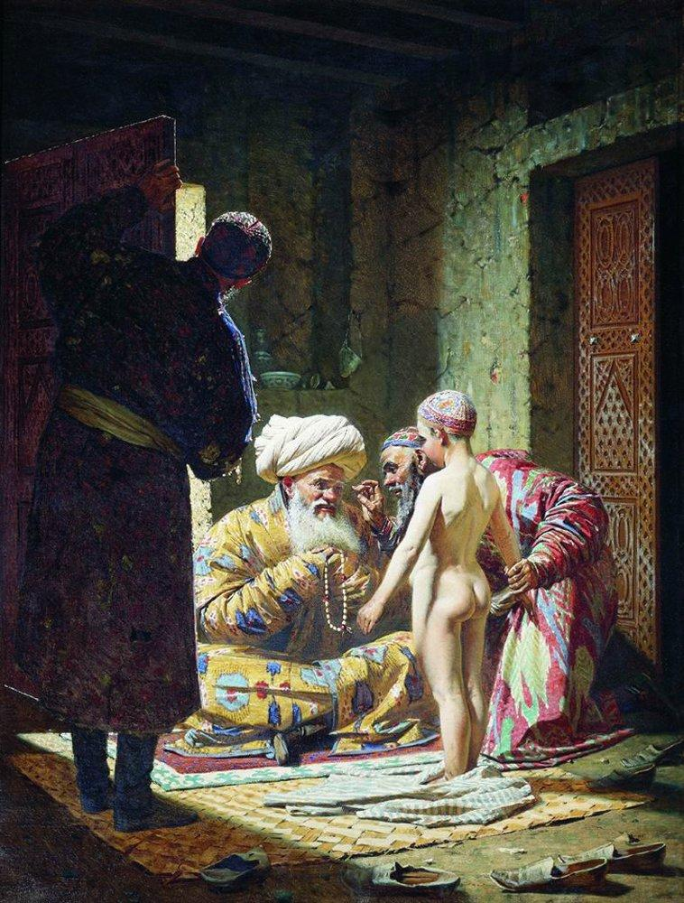 trade Girl slave