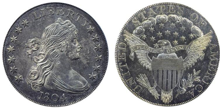 1804 Silver Dollar - Class I - Dexter - Dunham Specimen