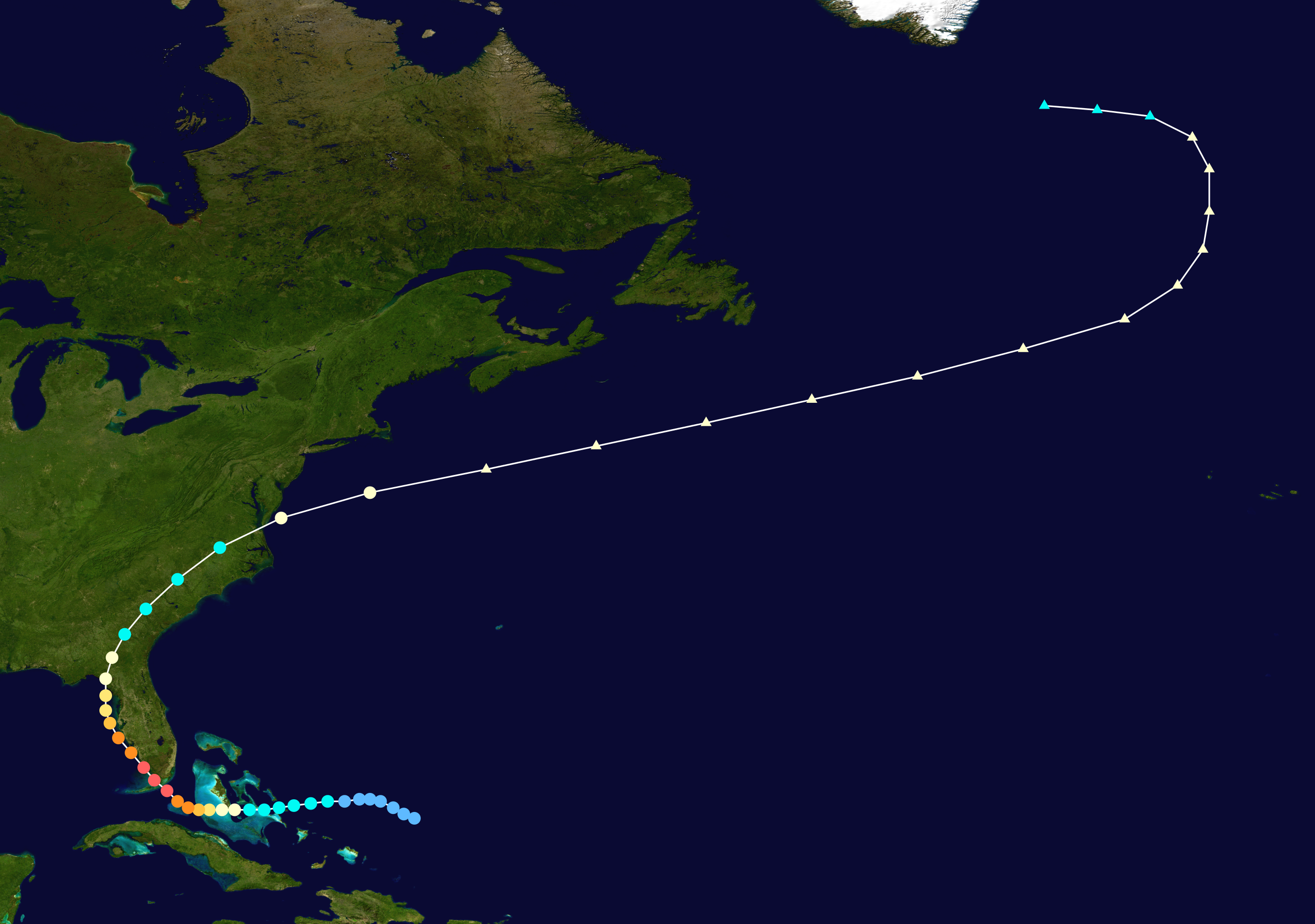 Datei 1935 Labor Day Hurricane Track Png Wikipedia