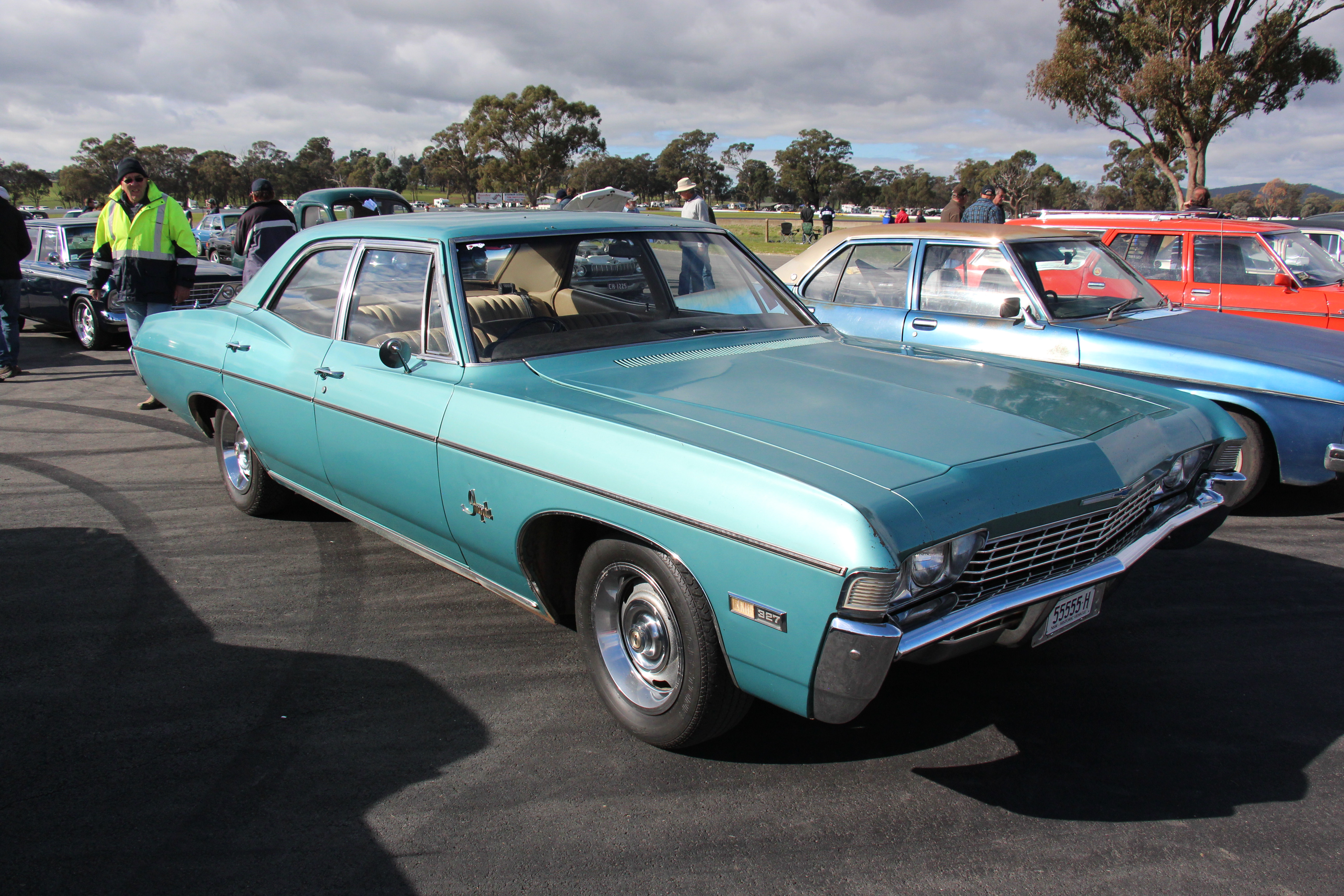 File 1968 Chevrolet Impala 4 Door Sedan 26804010573 Jpg Wikimedia Commons