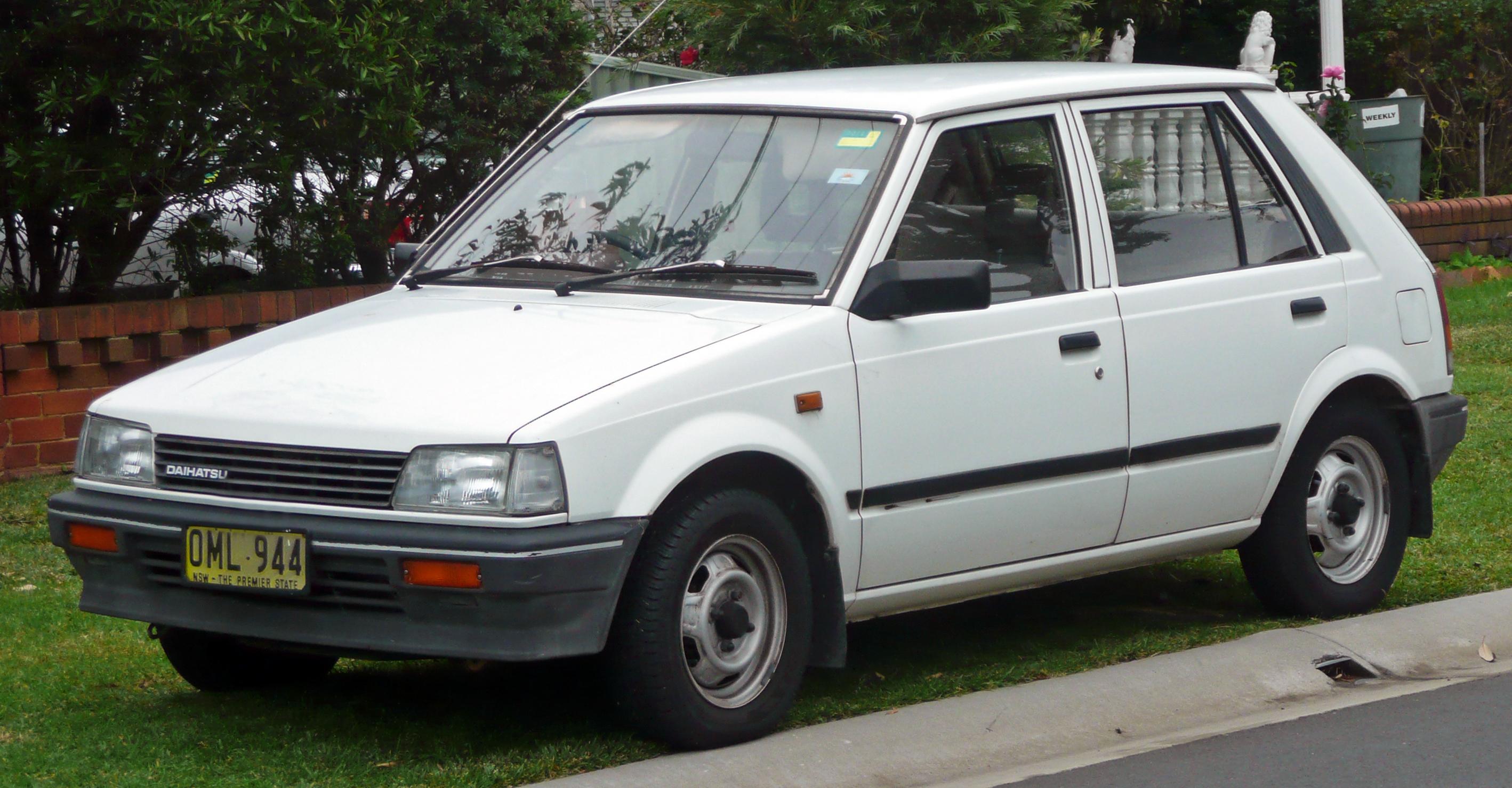 Avis sur Daihatsu Charade 4  Donnez votre avis