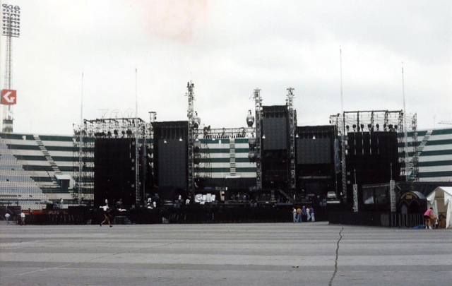 Empty Outdoor Concert Stage