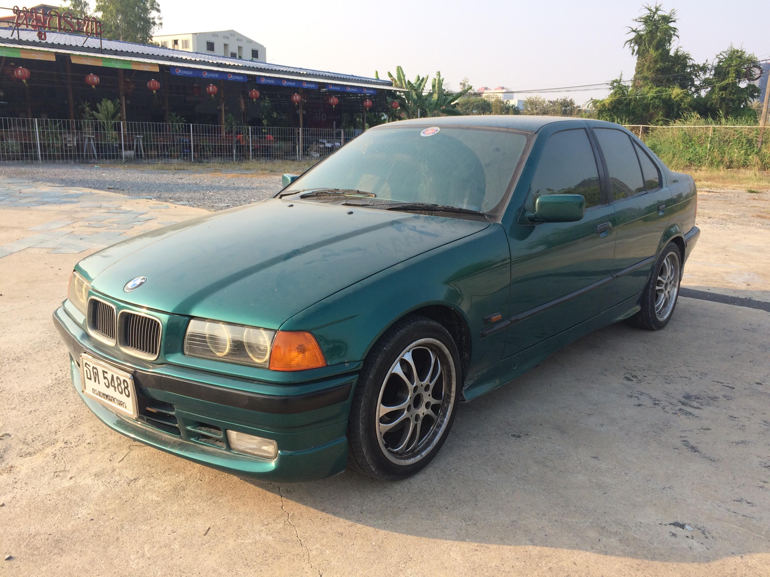 File 1995 1996 Bmw 318i E36 Sedan 22 02 2018 01 Jpg Wikimedia Commons