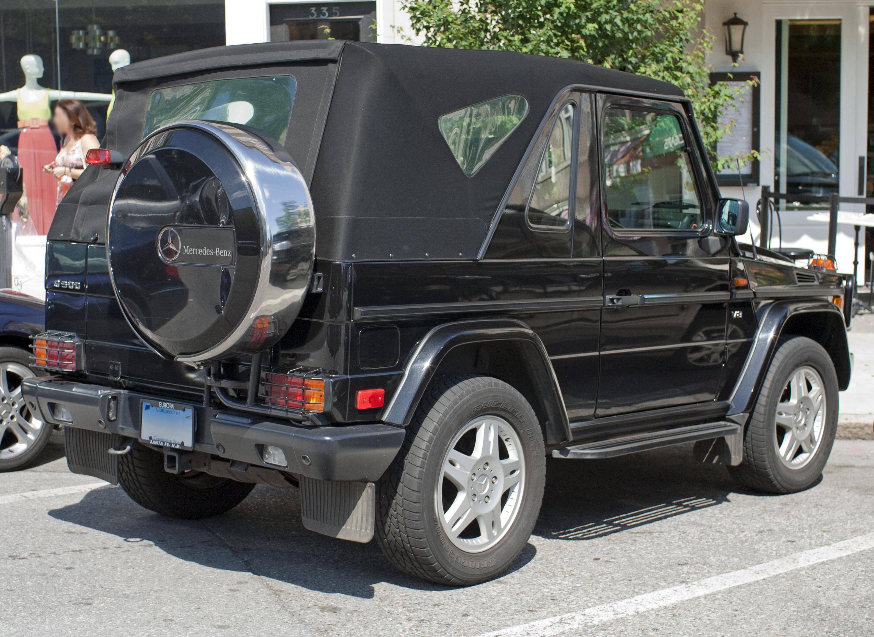 File1999 Mercedes Benz G500 Cabriolet