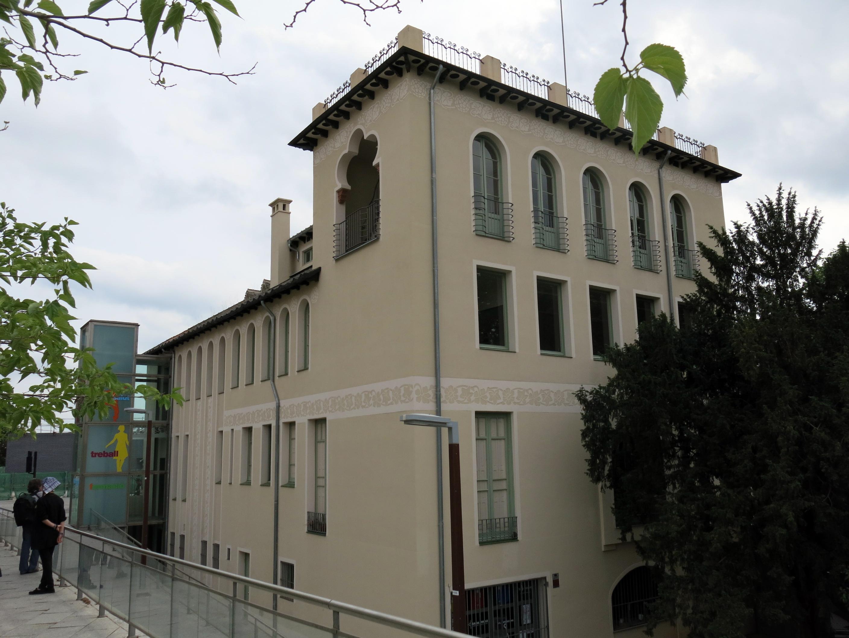File 209 casa coll i bacard o casa baumann fa ana c - Casas terrassa centro ...