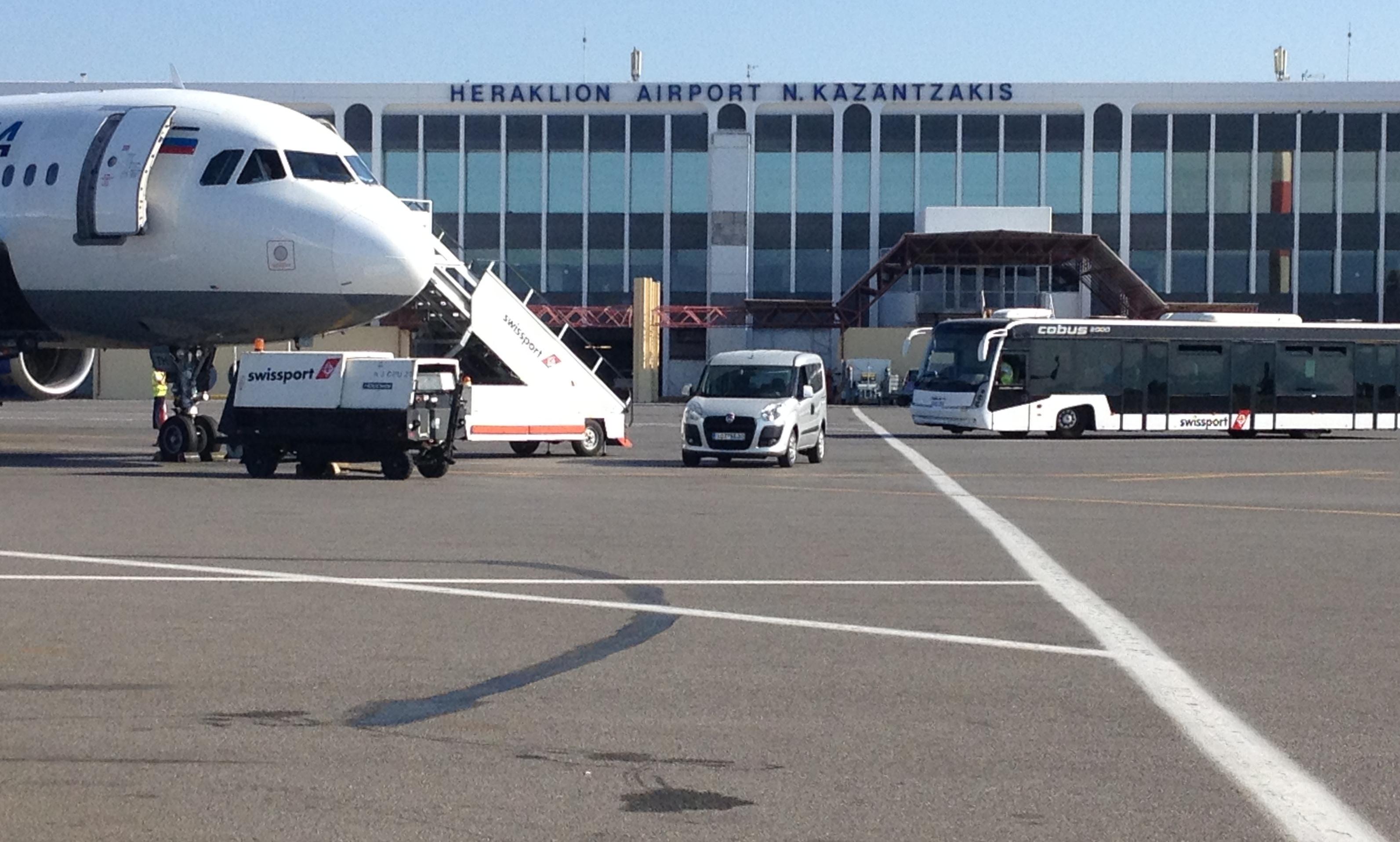 Схема аэропорта ираклион никос казандзакис