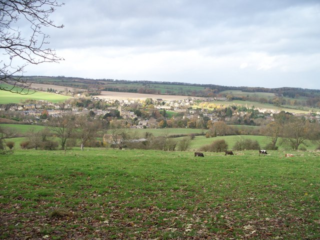 A view of Blockley - geograph.org.uk - 1591024