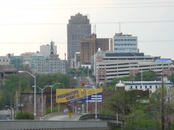 English: View of Allentown City from east side