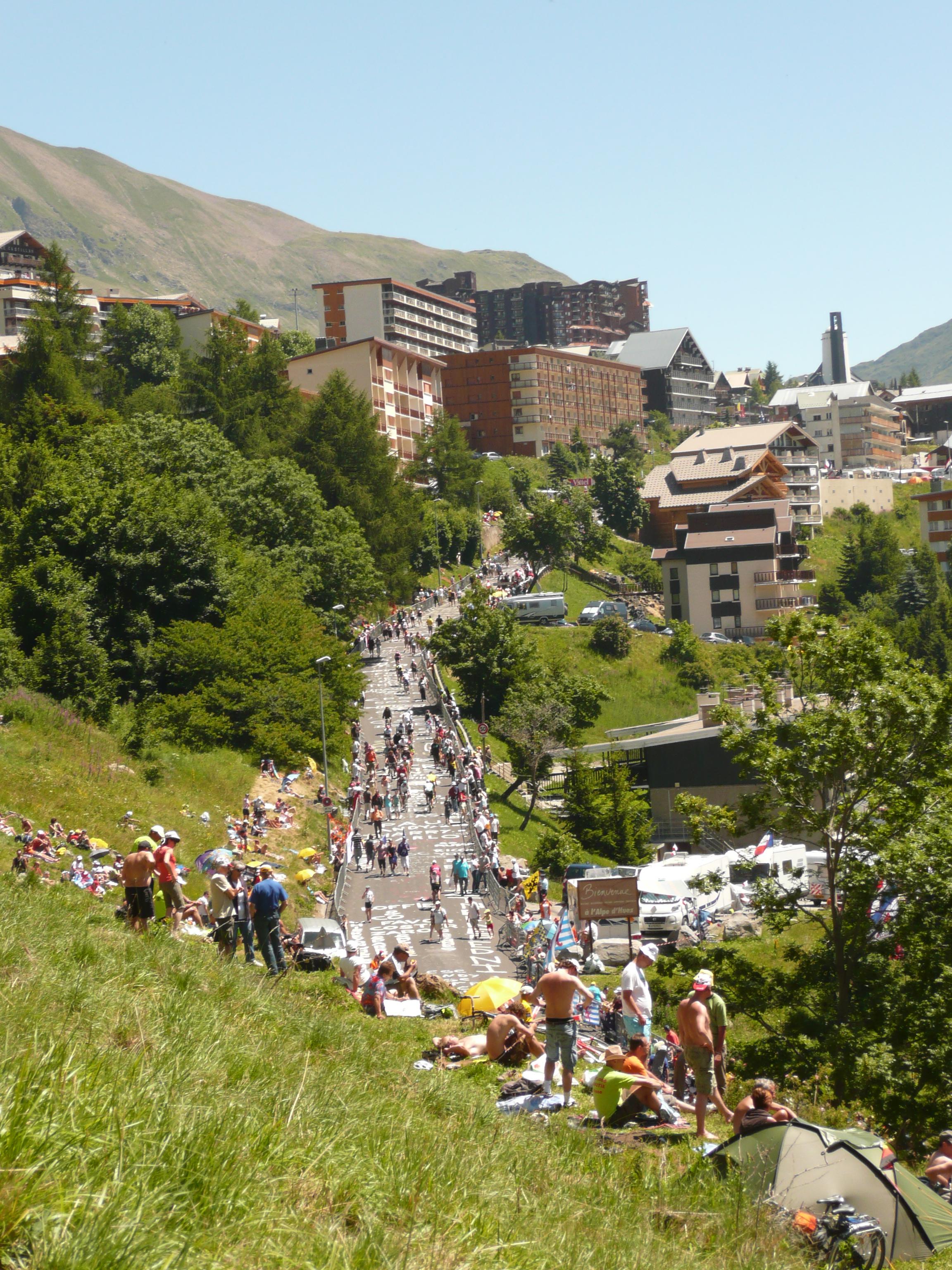Alpe D'Huez France  city photos gallery : Fil:Alpe d'Huez Tour de France 2008 Wikipedia