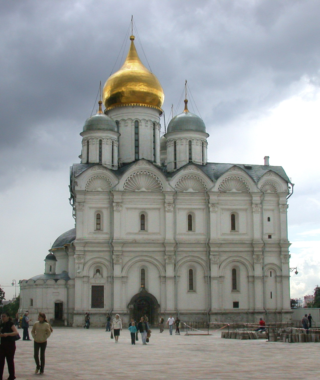Archangel Cathedral of the Moscow Kremlin: description, architecture 84