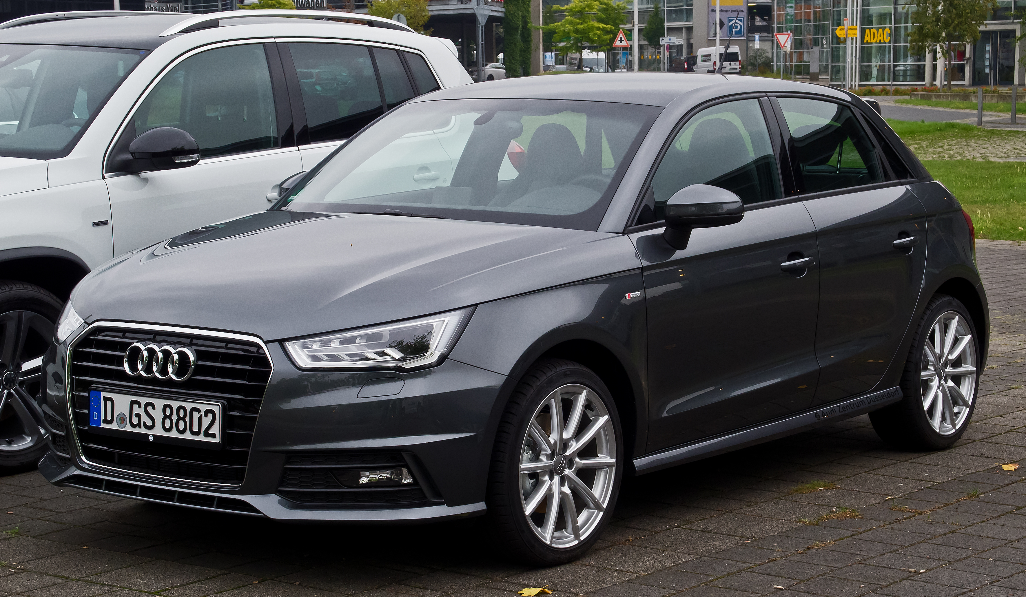 file audi a1 sportback 1 4 tfsi s line facelift frontansicht 8 august 2015 d. Black Bedroom Furniture Sets. Home Design Ideas