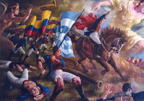 Battle Of Pichincha Wikipedia