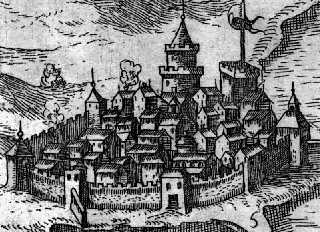 The Old town in 1615. Beauvau 1615 budva city.jpg