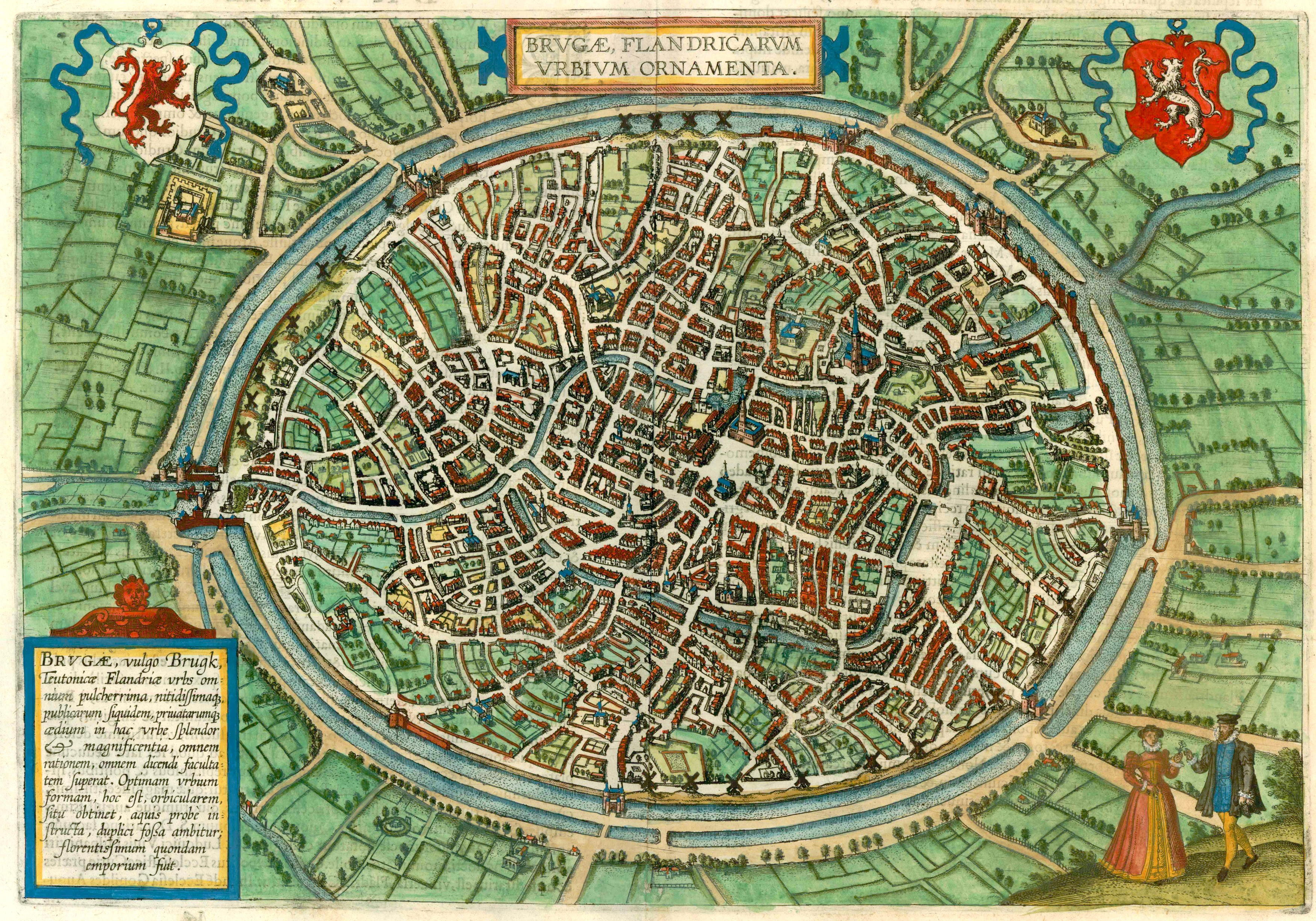 File:Bruges by Braun and Hogenberg, print from 1635.jpg - Wikimedia ...