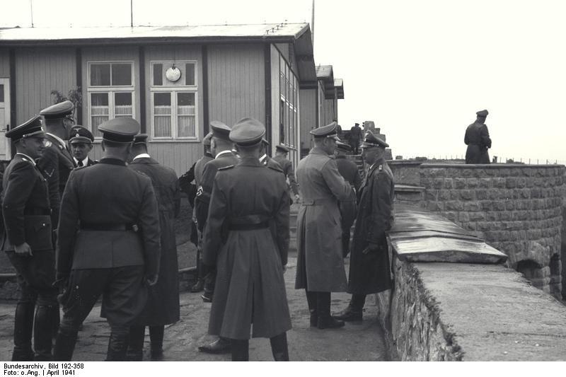 Bundesarchiv Bild 192-358, KZ Mauthausen, Himmlervisite