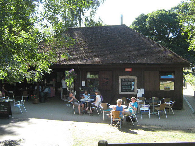Café at Brockhill Country Park - geograph.org.uk - 1766384