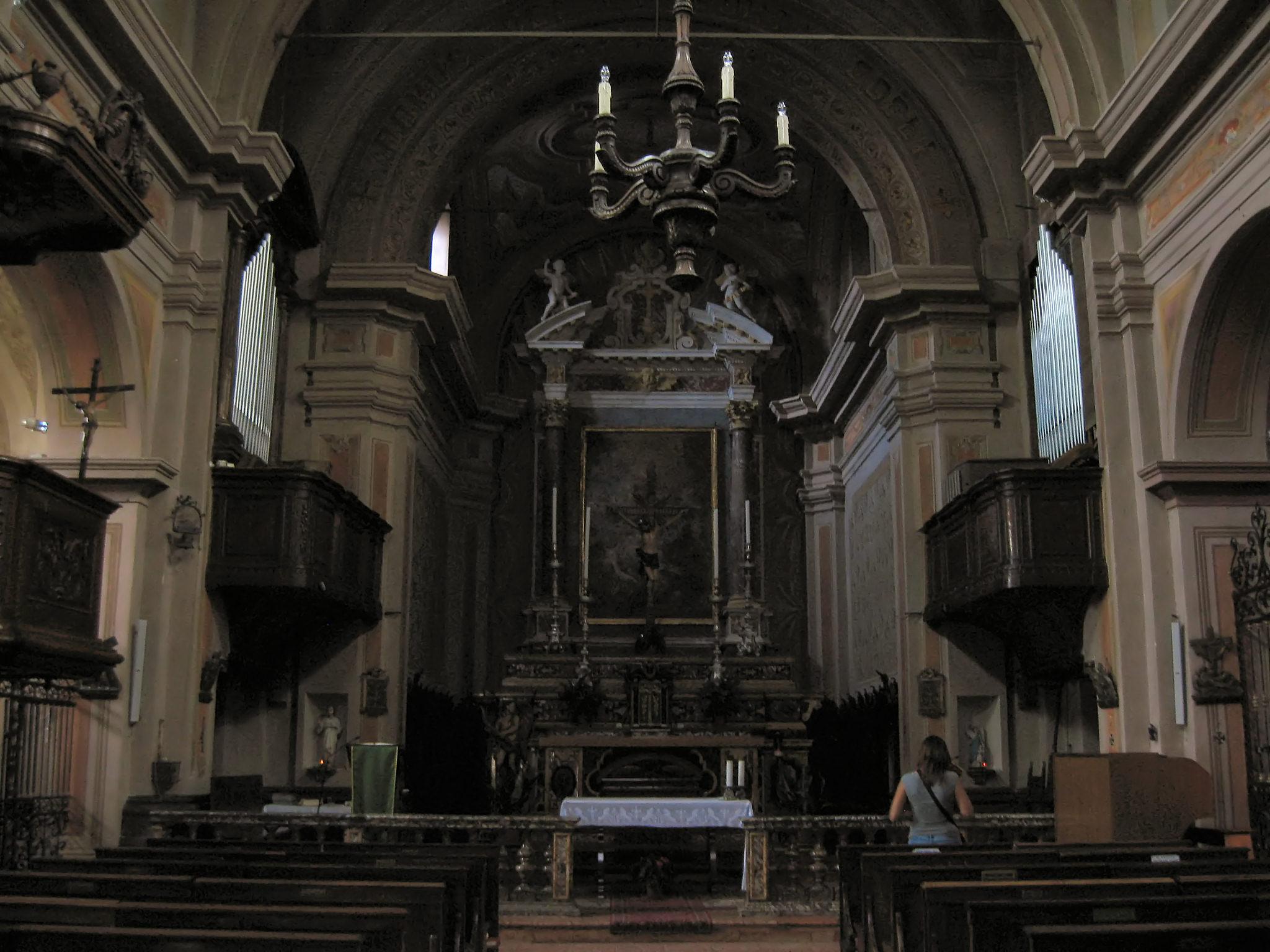 File Calestano Interno Chiesa Jpg Wikipedia