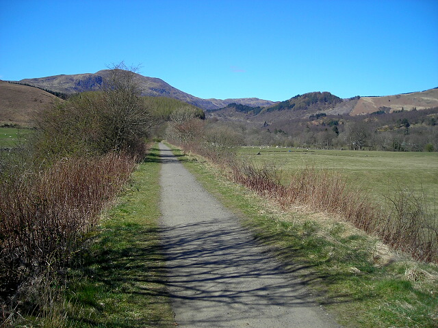 Callander to Strathyre Cycleway with Ben Ledi Beyond - geograph.org.uk - 394869