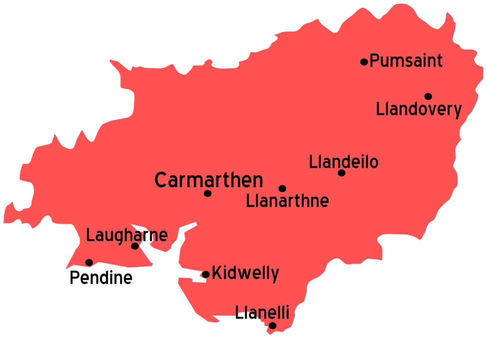 Carmarthenshire Travel Guide At Wikivoyage