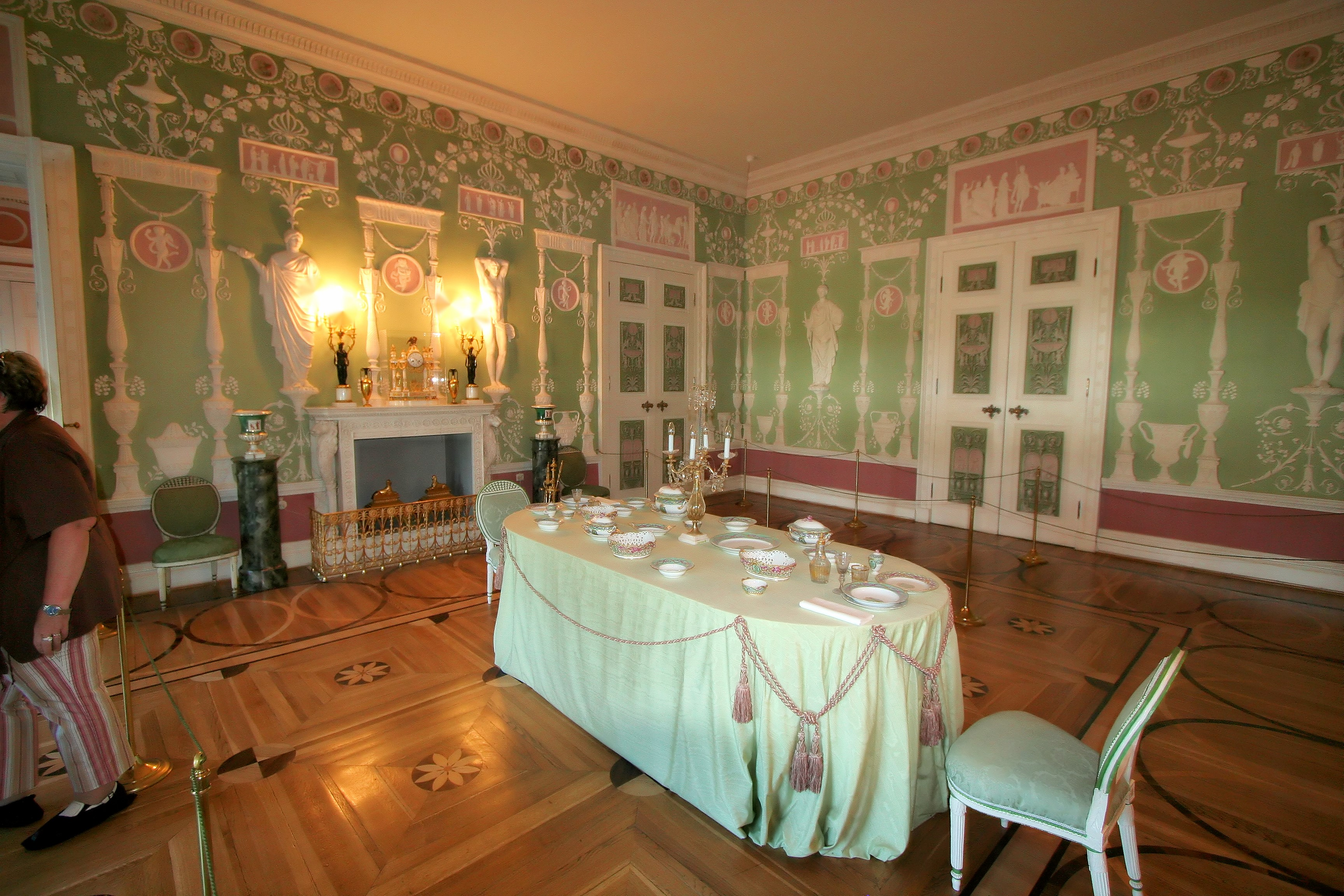 Palace dining room