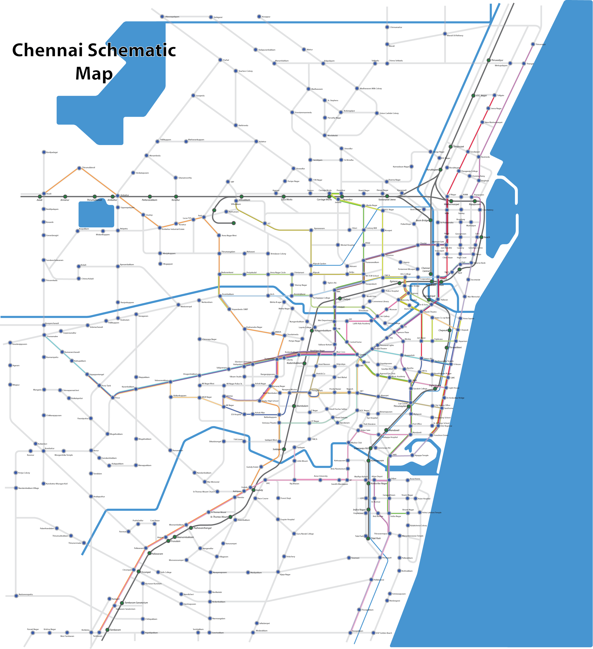 File:Chennai schematic bus map.png - Wikimedia Commons