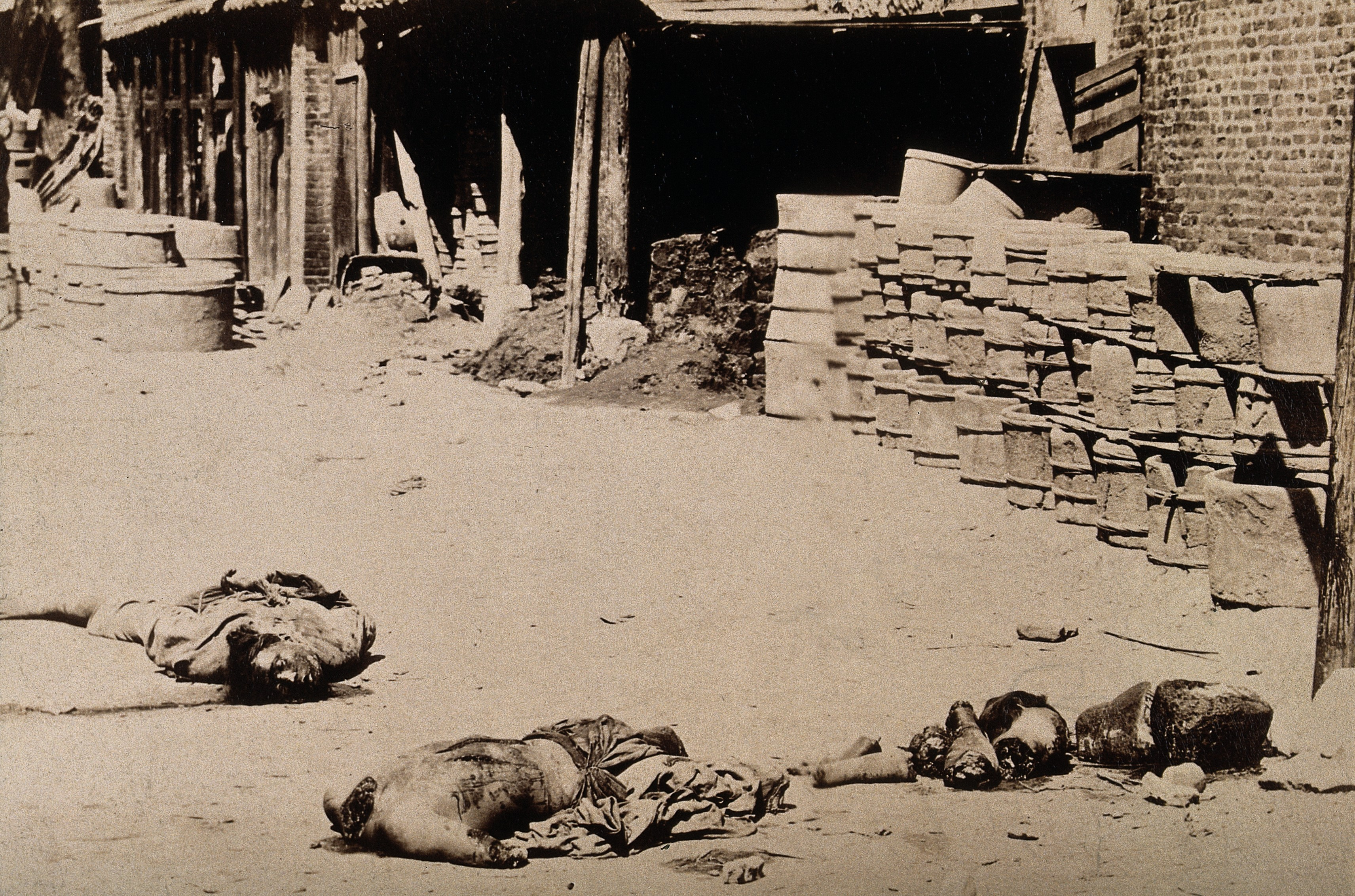file china the mutilated bodies of two men who had been wellcome