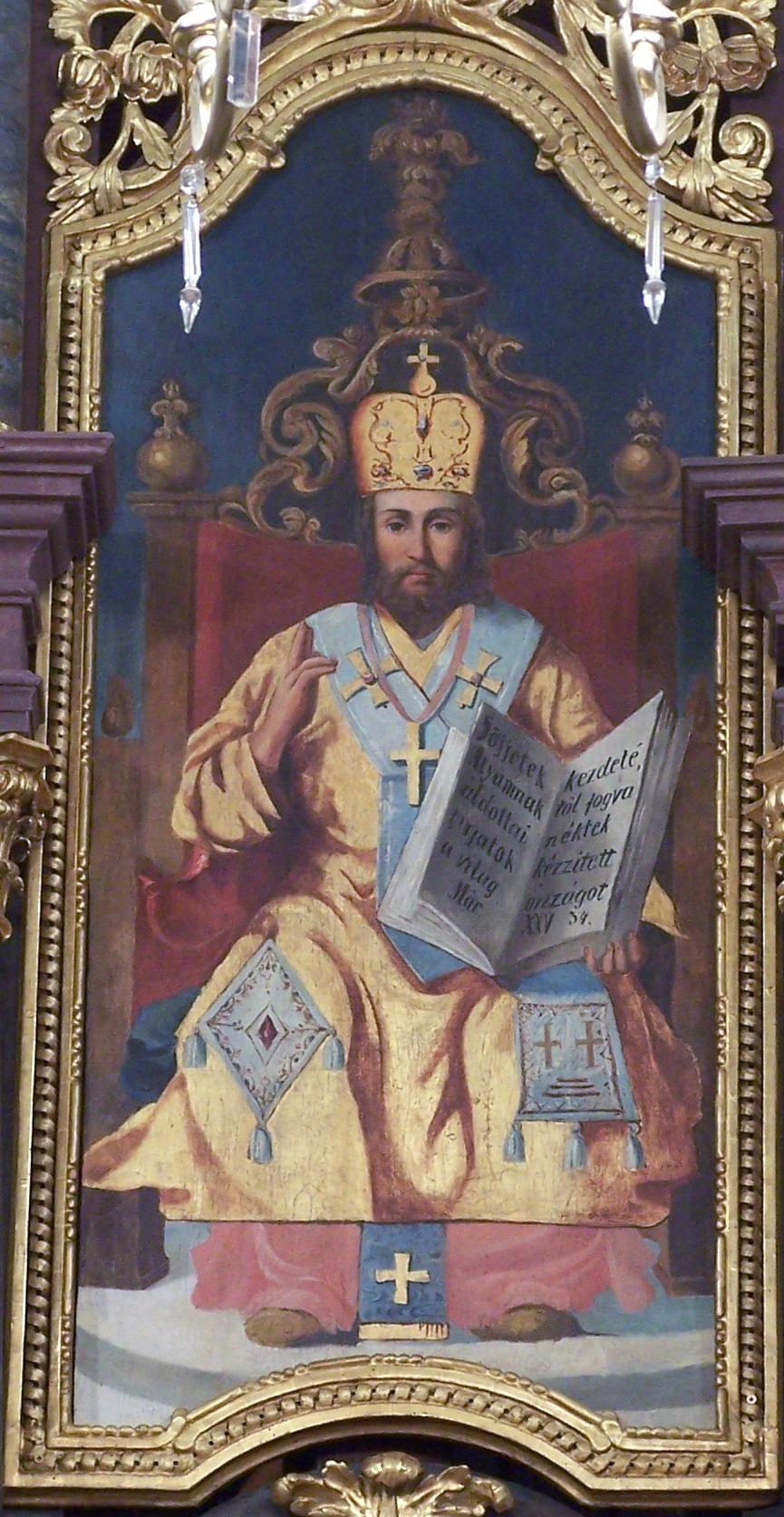 Cristo in trono, Re dell'Universo dans immagini sacre