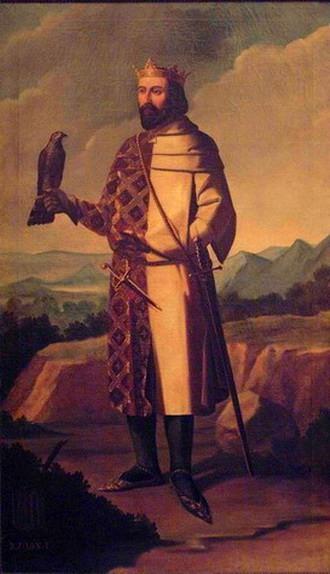 Retrato imaginario del rey Juan I de Aragón.