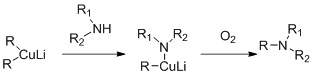 Cooper based Amine alkylation