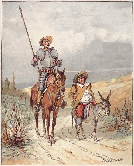 Don Quijote and Sancho Panza