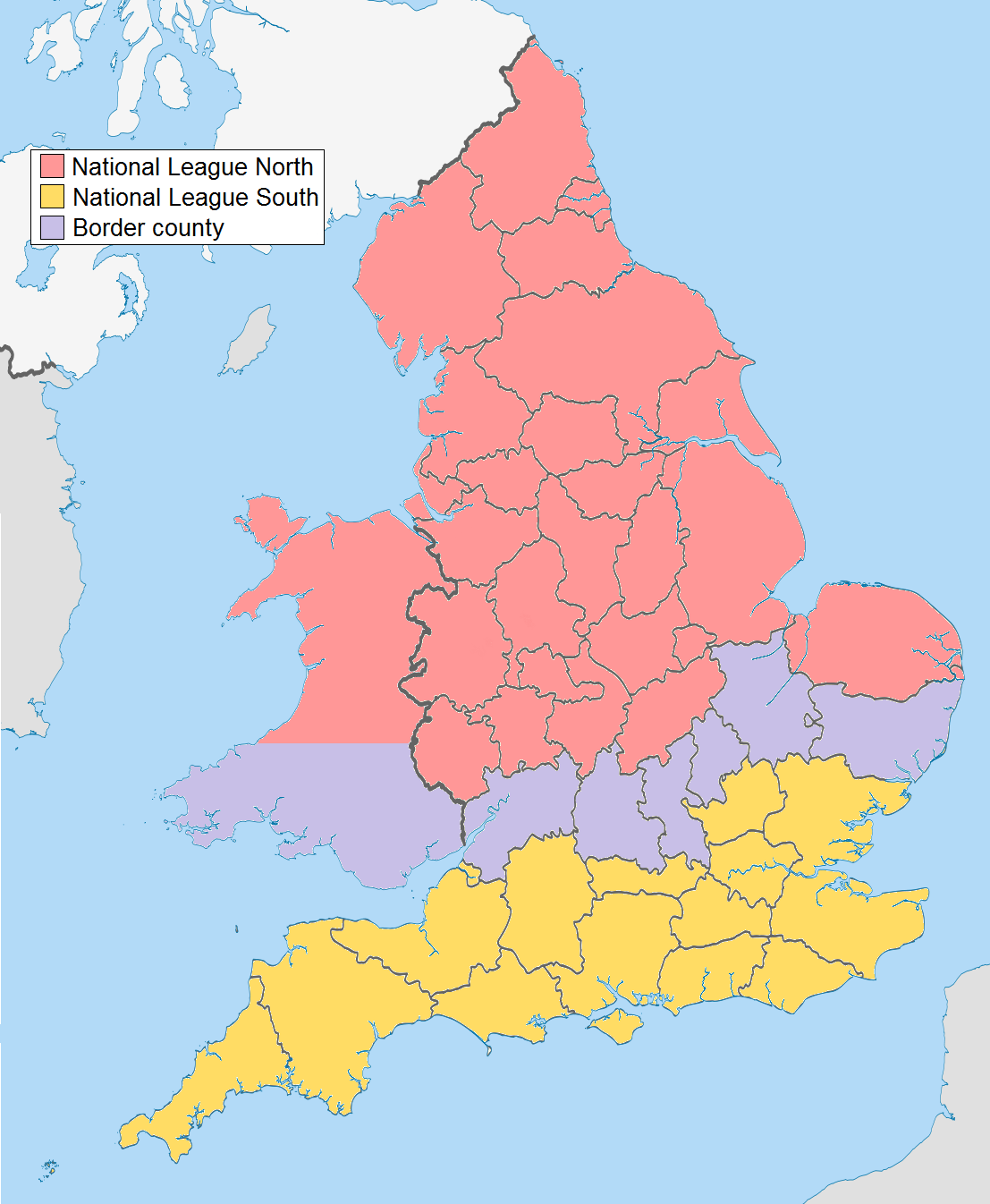 National League England