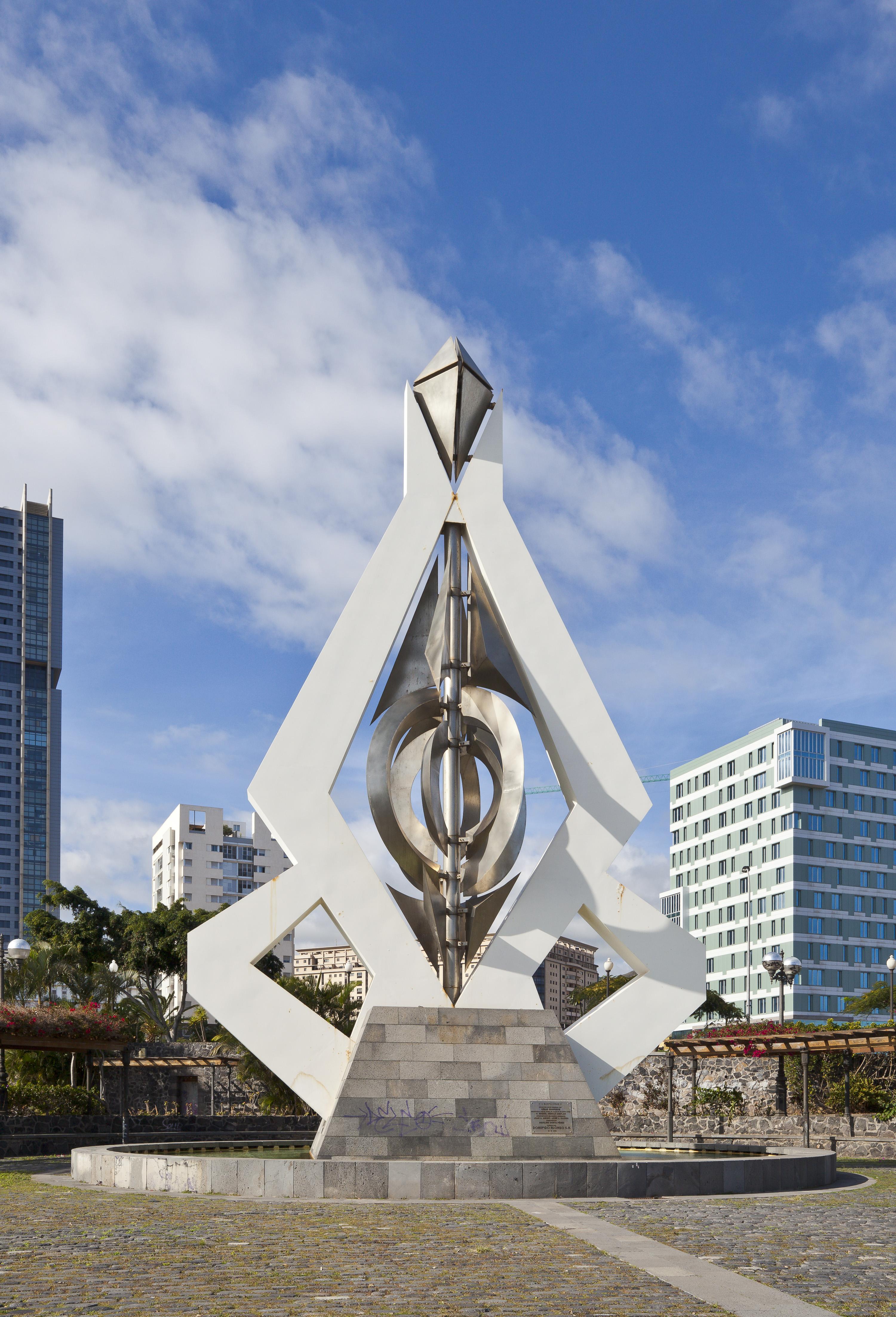 File escultura m vil de c sar manrique santa cruz de - Cesar manrique wikipedia ...