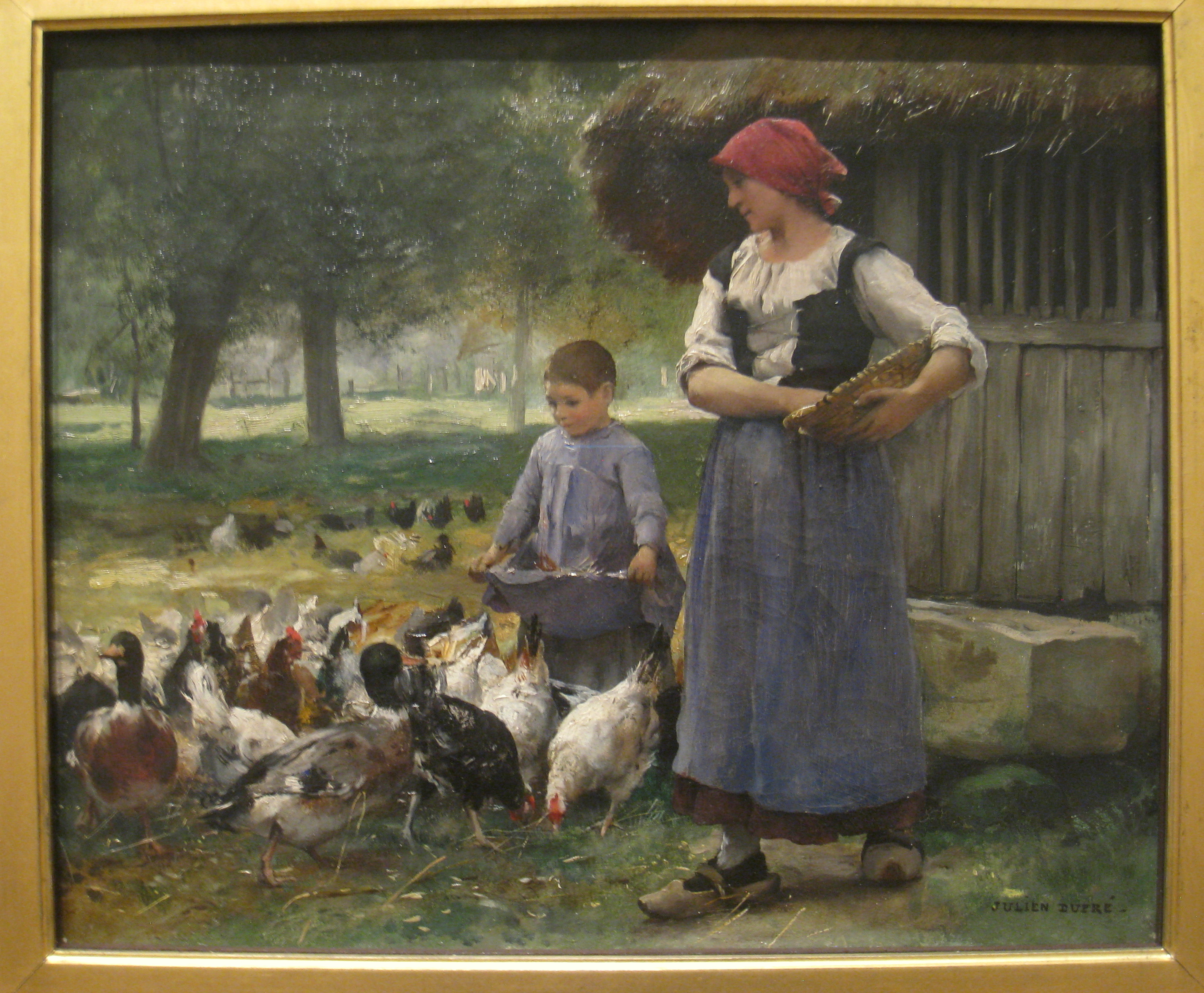 Chicken Paintings Artists