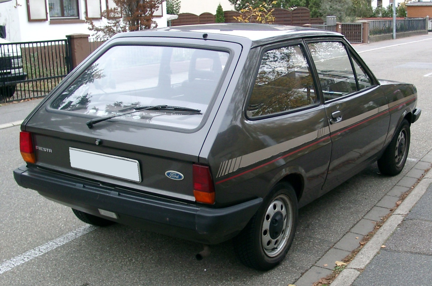 file ford fiesta mk1 rear wikimedia commons. Black Bedroom Furniture Sets. Home Design Ideas