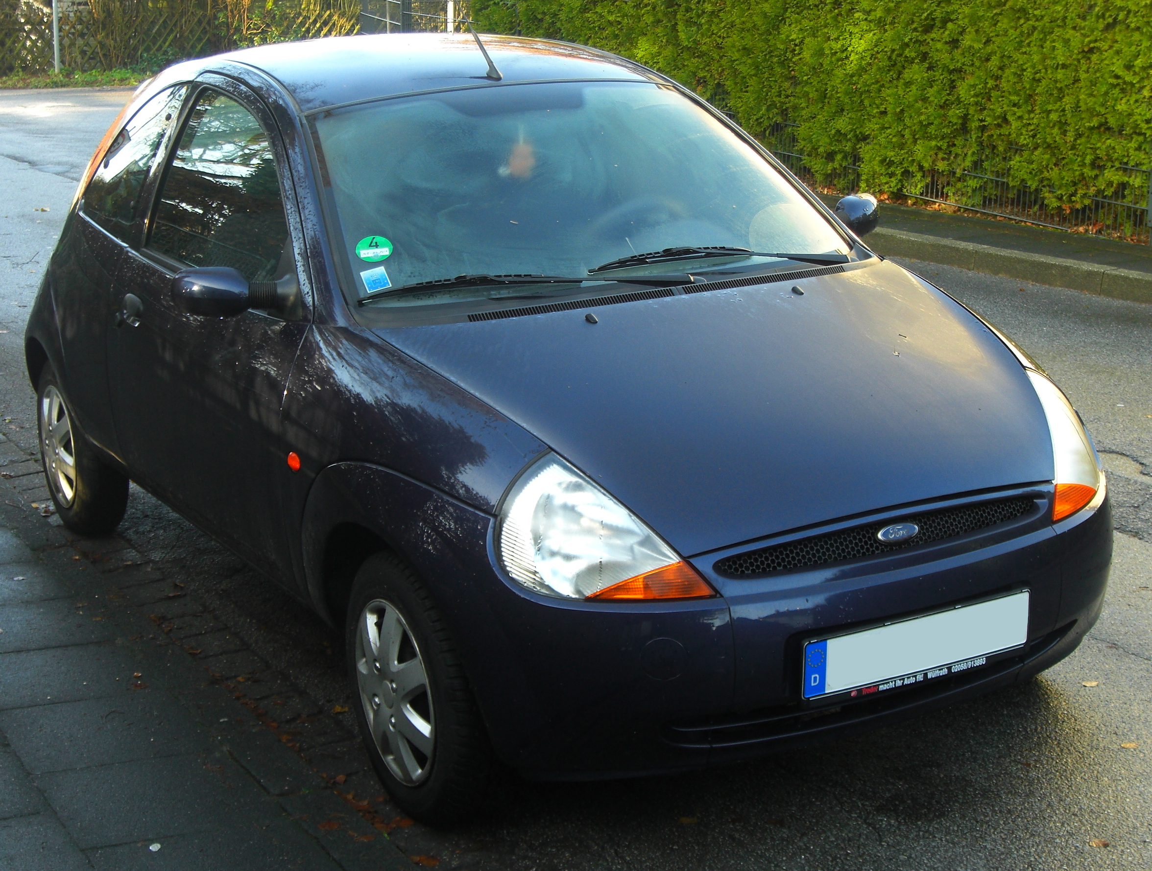 file ford ka i facelift 2005 2008 front mj jpg wikimedia commons. Black Bedroom Furniture Sets. Home Design Ideas