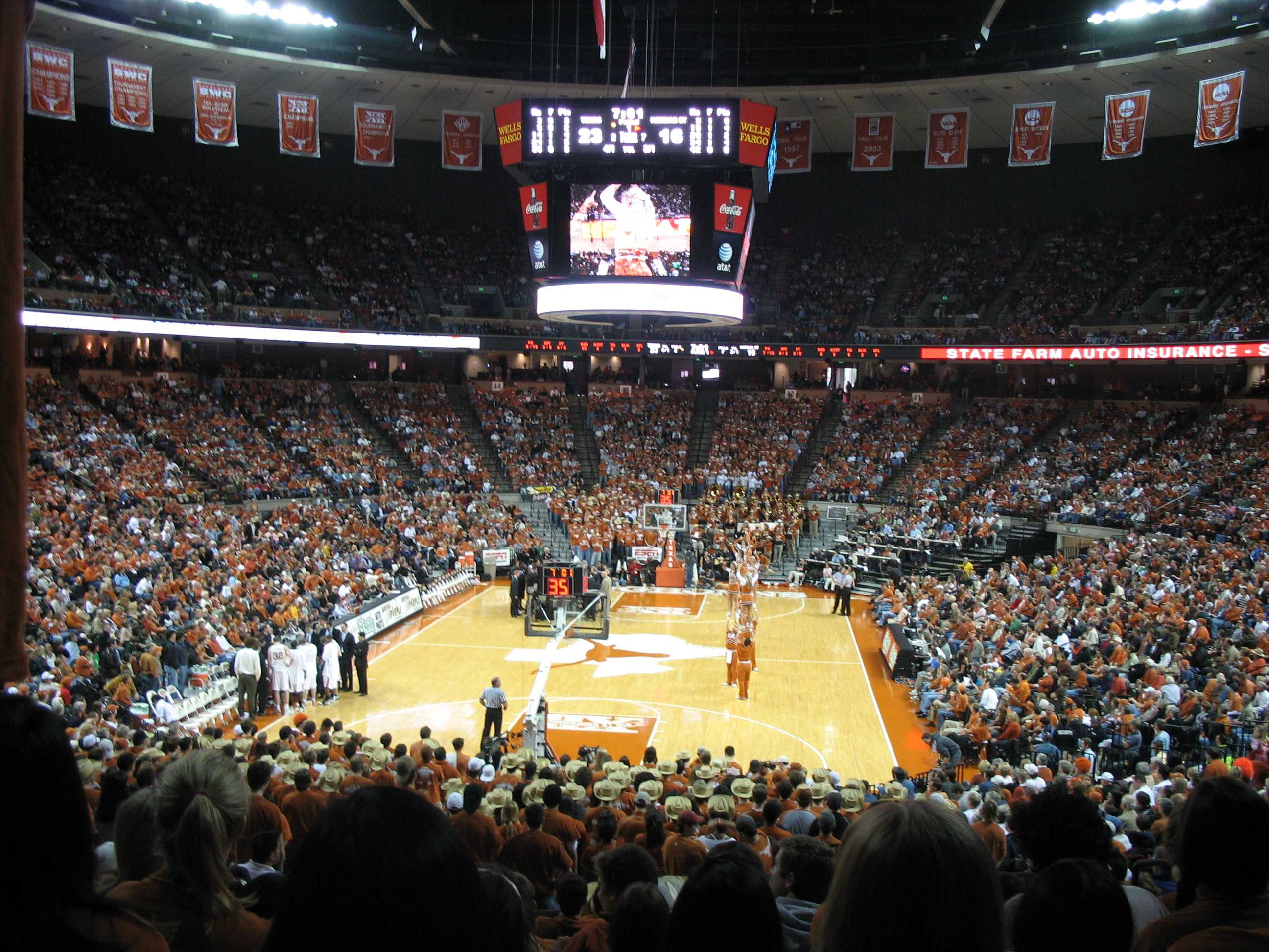 Frank Erwin Center Austin Texas