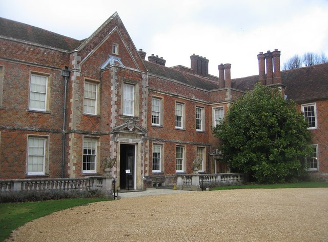 Front entrance to The Vyne - geograph.org.uk - 1181988