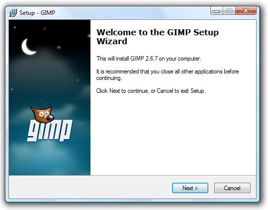 the gimp 2.6.7
