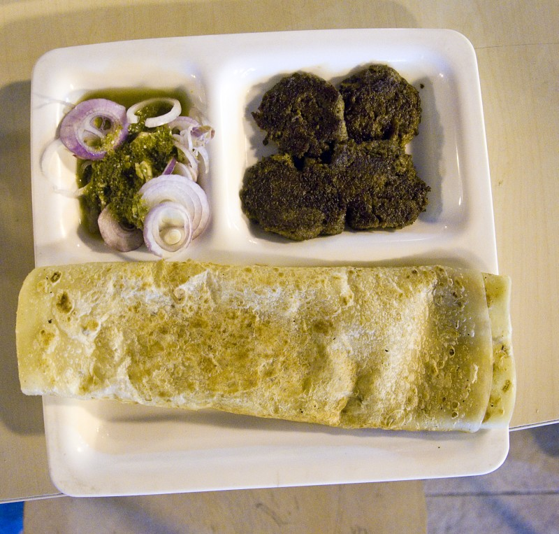 Galouti Kabab as served in Lucknow, India