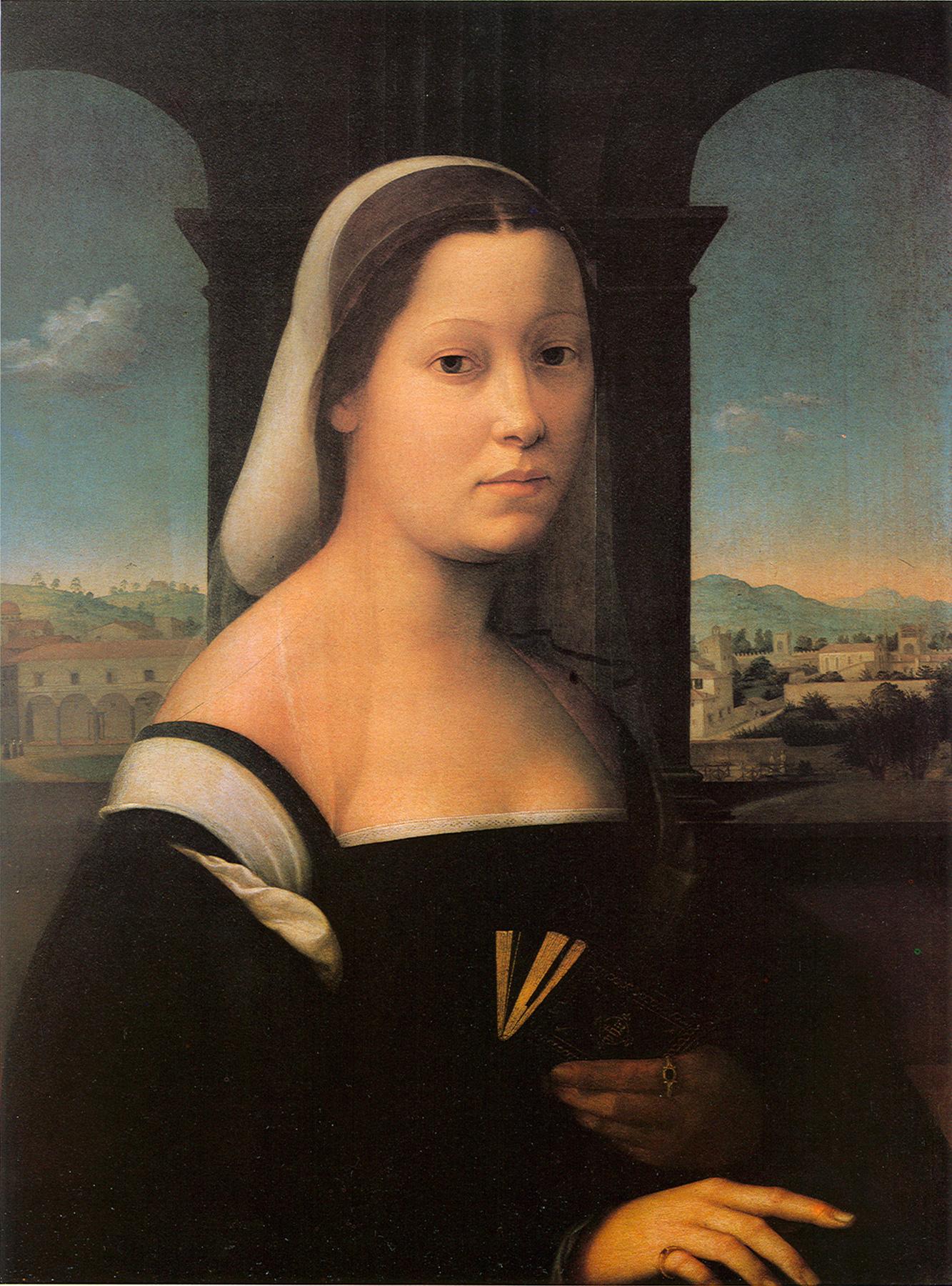 File Giuliano Bugiardini Ritratto Di Donna 1506 1510 Jpg